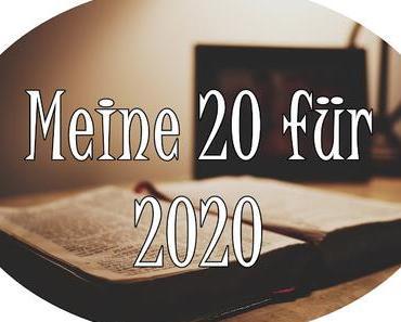 Meine 20 für 2020