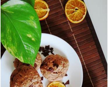 Softe vegane Schoko-Cookies