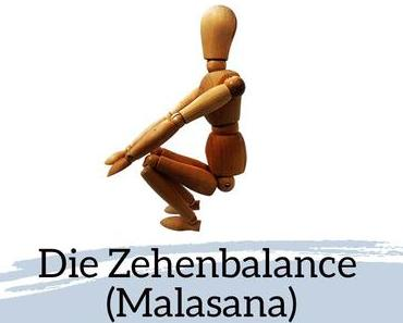 Asana des Monats Januar 2020: Die Zehenbalance (Malasana)