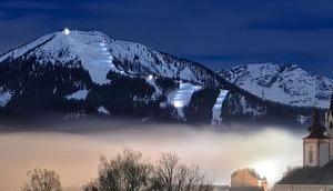 Bild Woche: Mariazell Vollmondnacht