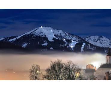 Bild der Woche: Mariazell Vollmondnacht