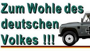 Wohle deutschen Volkes!