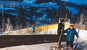 Bild Woche: Vorbereitung Naturbahnrodel Junioren-WM