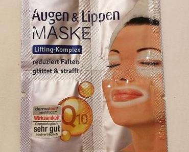 [Werbung] Schaebens Augen & Lippen Maske + Cotoneve Goji & Vitamina C Make-up Remover Pads