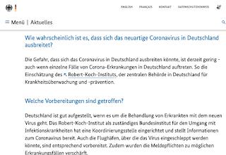 """Jens Spahn: """"Habe Formulare für Chinareisende vorbereitet"""""""