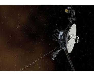 Voyager 2 nach einem Fehler abgeschaltet