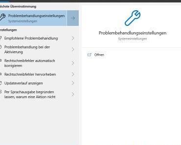 Wenn die Windows Suche plötzlich nicht mehr funktioniert