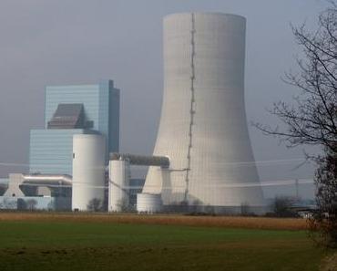 Foto: Das Kohlekraftwerk Datteln 4