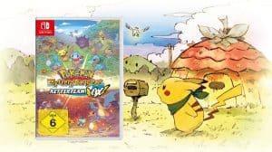 Gewinnspiel Pokémon Mystery Dungeon: Retterteam