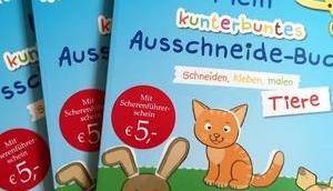 """Schnippeln, Kleben Malen neue Ausschneidebuch """"Tiere"""" Nico Sternbaum Gewinnspiel"""