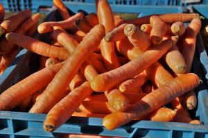 Resteküche viel viele Karotten