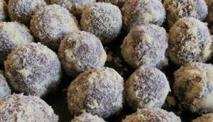 Schokoladen-Ganache-Trüffel