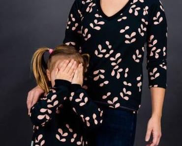Mutter-Tochter Kombi: Schicker Pulli und Lagenlook