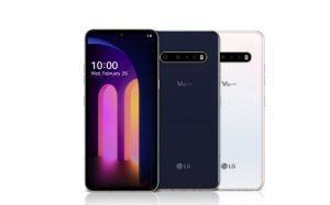 5G-Smartphone LG V60 Thinq 5G vorgestellt