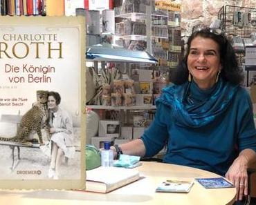 """Lesung von Charlotte Roth zu """"Die Königin von Berlin"""" in Ettlingen"""
