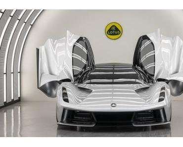 Jahresproduktion des Lotus Evija schon ausverkauft