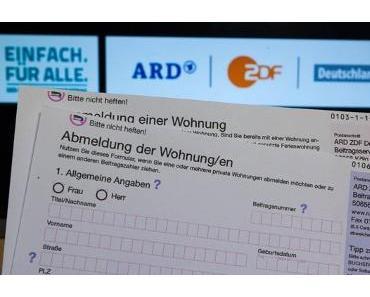 Rundfunkbeitrag steigt auf 18,36 Euro