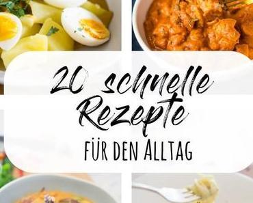 20 schnelle Hauptgerichte
