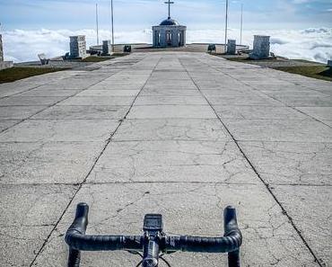 Den Monte Grappa mit dem Rennrad wie im Rausch hinauf