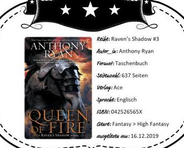 Anthony Ryan – Queen of Fire