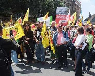 Atomausstieg: Demo in Frankfurt