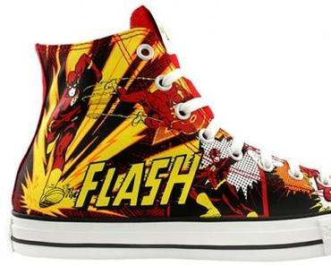 Converse All Star Chucks – Flash DC Comics – Blitzmann / Roter Blitz