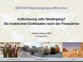 Vortrag SIETAR Regionalgruppe München