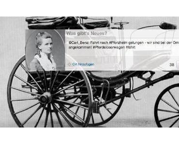 Warum Bertha Benz getwittert hätte