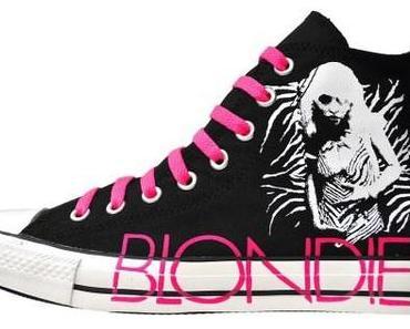 Converse Chuck Taylor All Star Chucks 113880 Blondie Schwarz Neon Pink