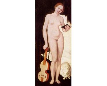 Hans Baldung, Frau mit Katze, 1529