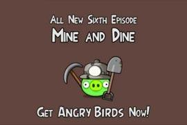 """Angry Birds: Rovio Mobile kündigt neues Update """"Mine and Dine"""" an"""