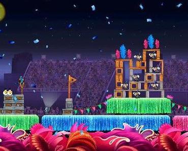 Angry Birds Rio (& HD): 15 neue Levels & ein neuer Vogel