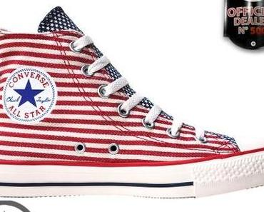#Converse Chucks Taylor All Star #Chucks 122177 USA Flag Weiß Rot Blau Stripes Gestreift HI