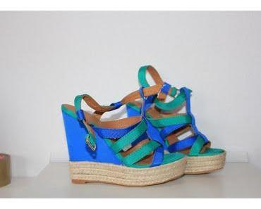 Trend: Grün Blau