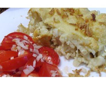 Mmh lecker!! Käsespätzle und Tomatensalat