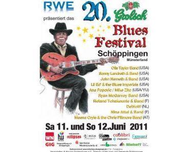 20. Grolsch Bluesfestival, 11.06. & 12.06.2011 in Schöppingen – Bericht