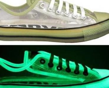 #Converse Chuck Taylor All Star #Chucks Glow in the Dark Transparent Low OX