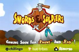 "Chillingo kündigt neues Spiel ""Swords & Soldiers"" an"