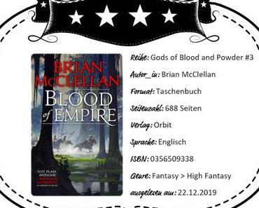 Brian McClellan – Blood of Empire