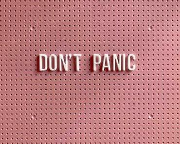 Angst verhindert nicht den Tod. Angst verhindert das Leben.