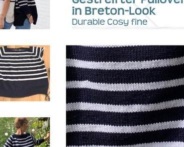 Pulli im Breton-Look – oder – Ahoi, auch ohne Meer