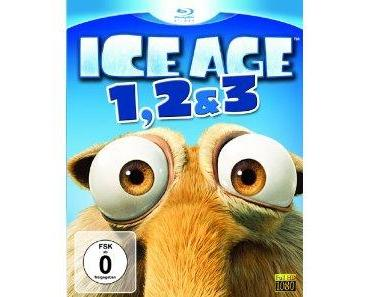 Ice Age 1, 2 & 3 Bluray