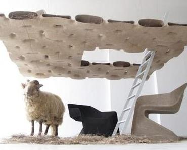 Werner Aisslinger: HEMP HOUSE & CHAIR