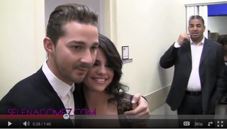 Selena Gomez trifft auf Shia LaBeouf