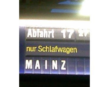 Deutsche Bahn sei Dank