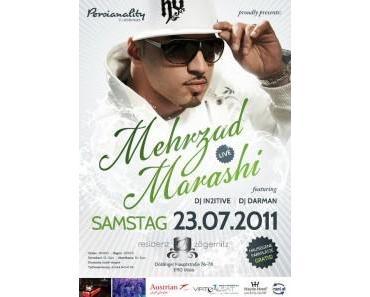 Persianality bringen Mehrzad Marashi nach Wien