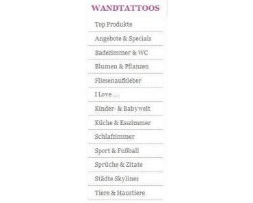  Shoptest  Wandtattoos und Wandsticker von wandkings.de