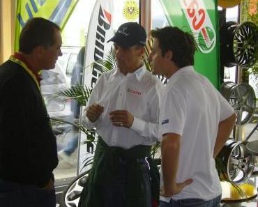 Rallye Fahrer verunglückte in Aspang in seiner Garage