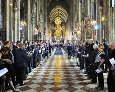 Der letzte Kaiser von Österreich – Die Fotos: Teil 2 – Im Dome zu St. Stephan