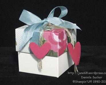 Workshop – Projekt …… kleine Geschenkbox …….